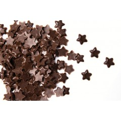 Čokoládové hvězdičky tmavé - 50g