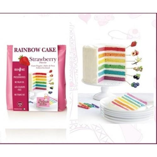 Madame Loulou - Rainbow Cake - Jahoda - 100g
