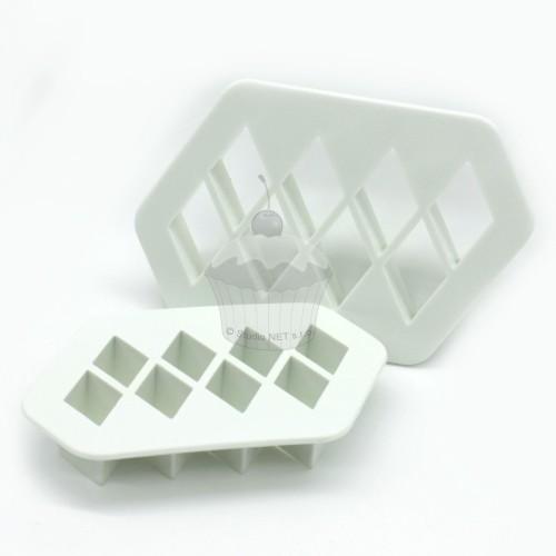 Sada vykrajovačů - 3d optická iluze  2ks