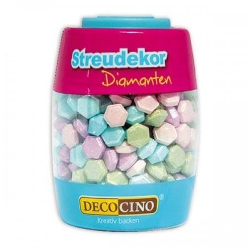DecoCino cukrová dekorace - diamant - 63g