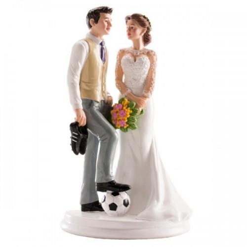 Svatební figurky - fotbal