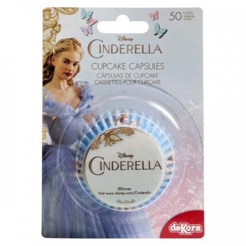 Dekora  cukrářské košíčky - Cinderella - Popelka - 50ks