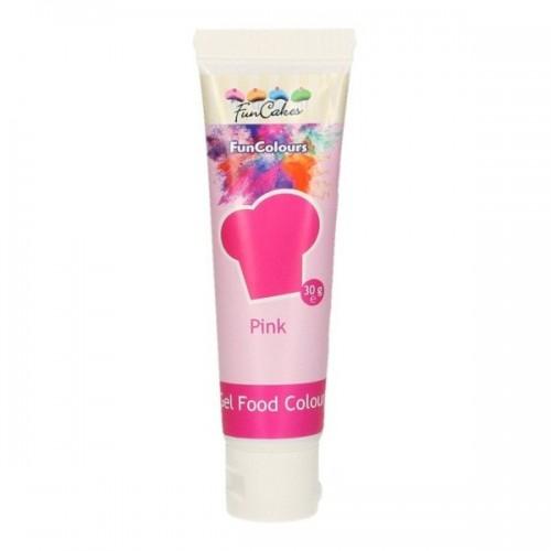 FunColours - gelová barva - růžová - PINK - 30g