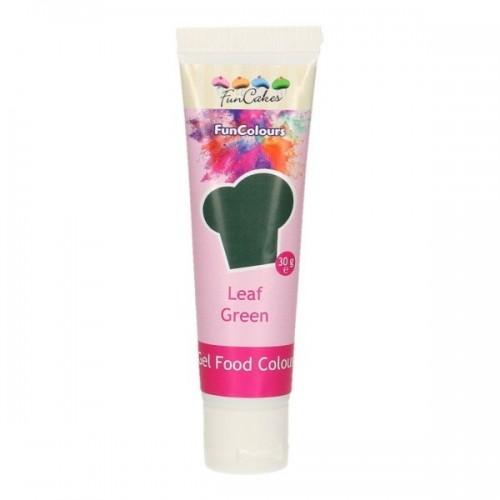 FunColours - gelová barva - zelená - LEAF GREEN  - 30g