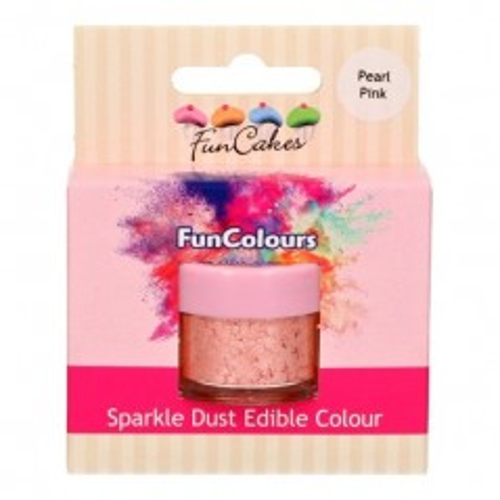 FunColours prachová perleťová barva růžová - Pear Pink - 2,5g