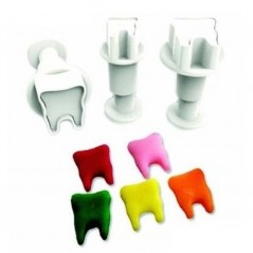 Dekofee  - vypichovače mini zub - 3ks
