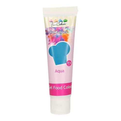 FunColours - gelová barva - modrá - Aqua  - 30g