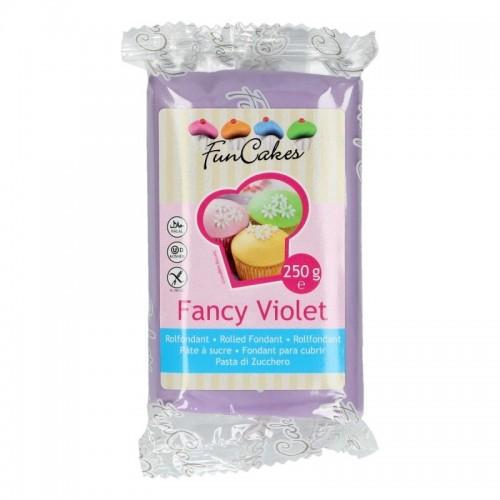 FunCakes potahový fondán Fancy Violet  - fialová 250g