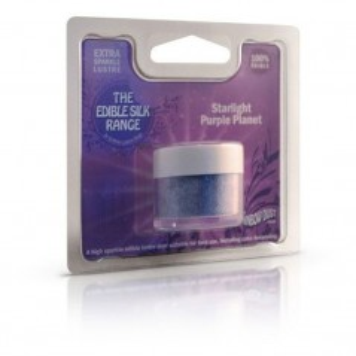 RD Prachová perleťová barva fialová Rainbow - Starlight Purple Planet 2-4g