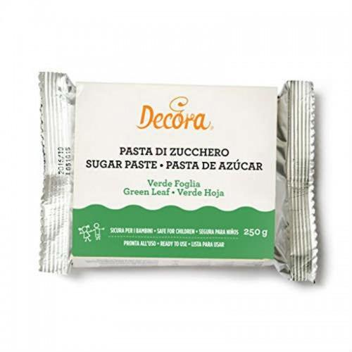 Decora - potahovací hmota - zelená - leaf green -  250g