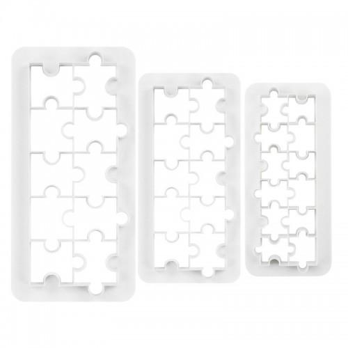Multicutter set - multi vykrajovač -  puzzle 3ks