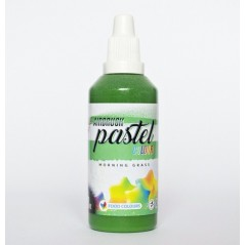 Airbrush pastelová barva tekutá 60ml Food Colours Morning Grass