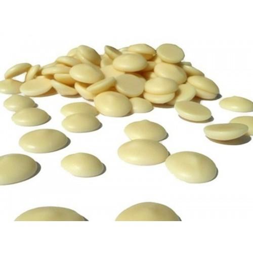 Ariba bílá čokoláda - white discs 36/38 - 500g