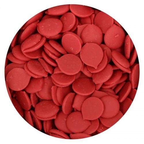 FunCakes deco melts - poleva Červená - disky - 250g