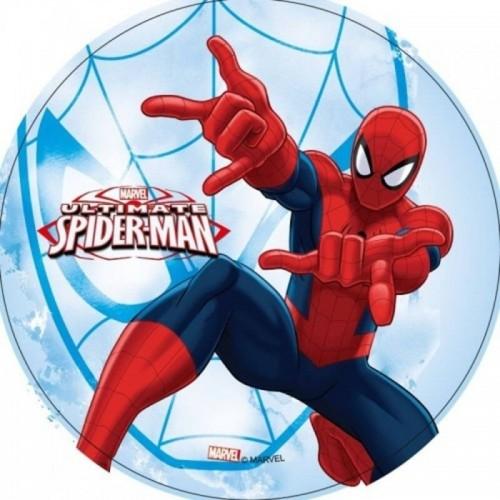 Jedlý papír kulatý - Spiderman