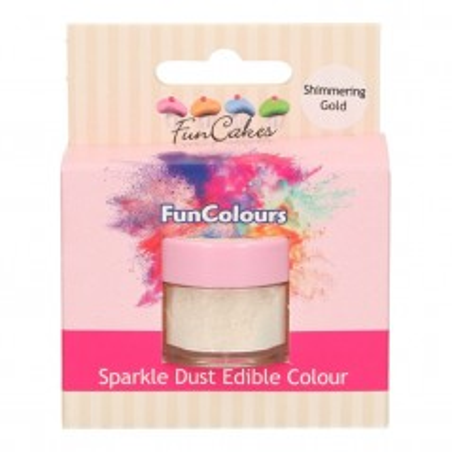 FunColours prachová perleťová barva - Shimmering Gold 4,5g