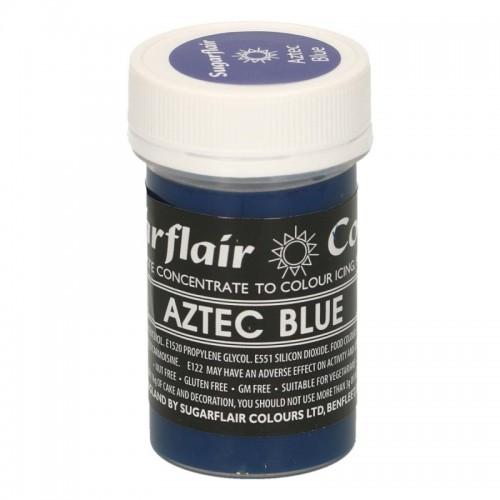 Sugarflair gelová barva - Aztec Blue - 25g
