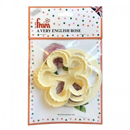 FMM vykrajovátka - anglická růže - 3ks