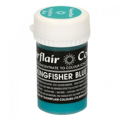Sugarflair gelová pastelová barva - Kingfisher Blue - 25g