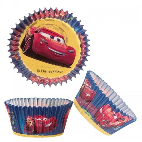 Dekora  cukrářské košíčky - Cars - 50ks