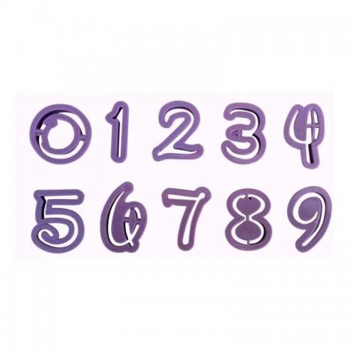 Vykrajovátka čísla - Disney font 10ks