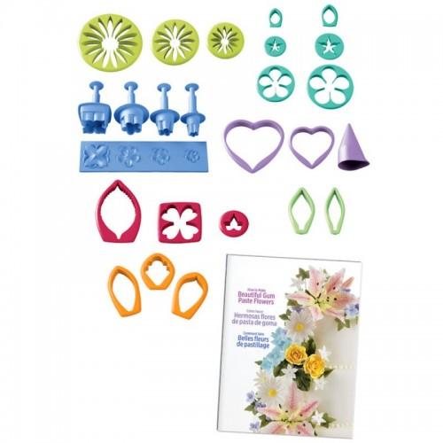 Gum Paste Flowers cutter set - Sada pro výrobu květin