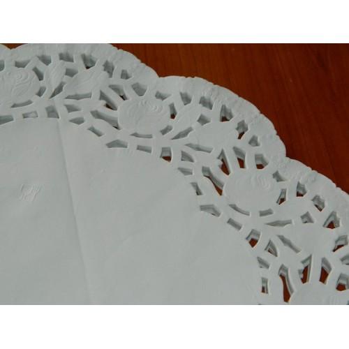 Papírové krajky pod dort 40cm - 100ks