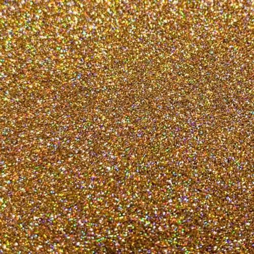 Sugarcity Dekorativní třpyty Gold Hologram - Gold - zlatý hologram 10ml