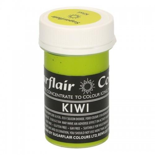 Sugarflair paste colour - gelová barva - Kiwi 25g