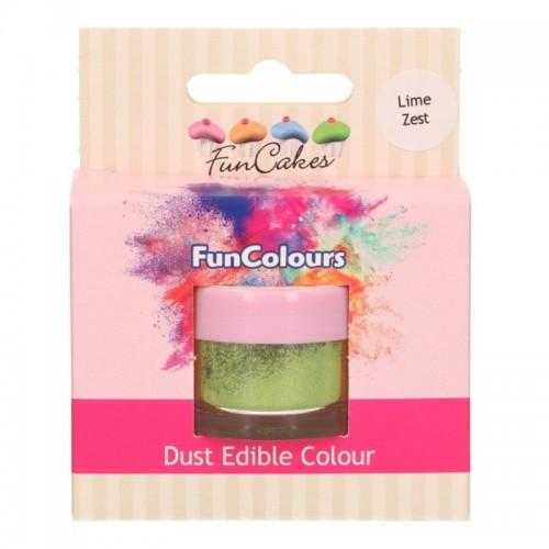 FunColours prachová barva - Lime Zest - zelená - 2,5g