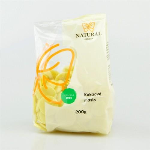 Natural - kakaové máslo 200g
