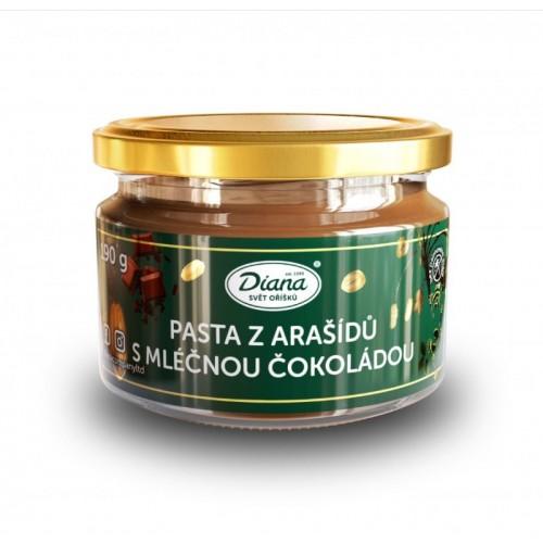 Diana - pasta z arašídů s mléčnou čokoládou - 250g