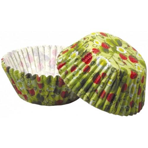Cukrářské košíčky - jahody 50ks